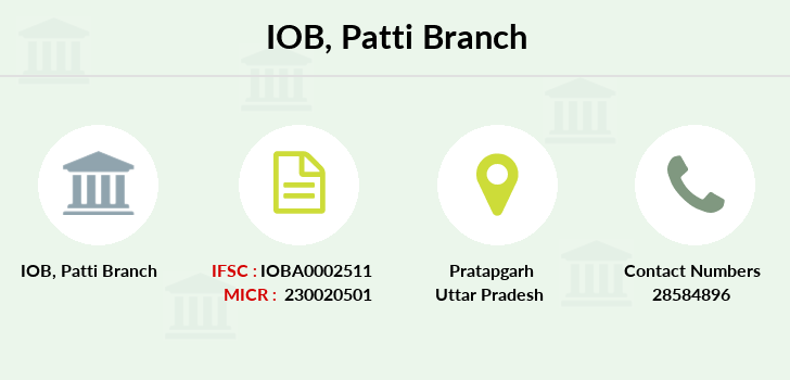 Indian-overseas-bank Patti branch