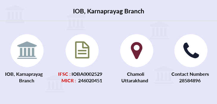 Indian-overseas-bank Karnaprayag branch