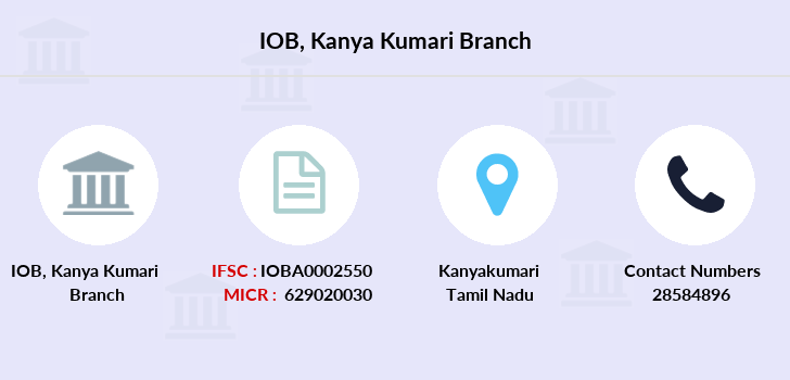 Indian-overseas-bank Kanya-kumari branch