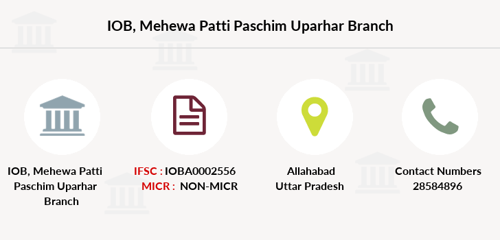 Indian-overseas-bank Mehewa-patti-paschim-uparhar branch