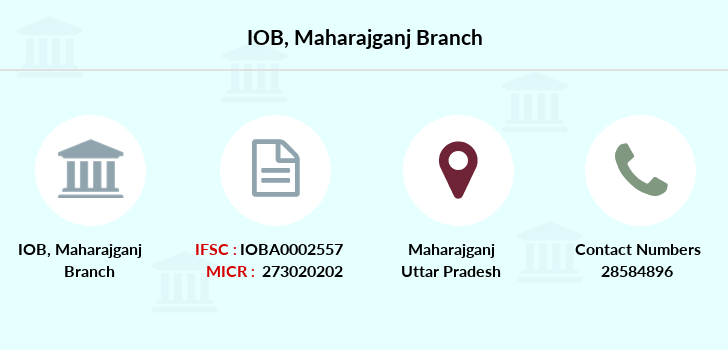 Indian-overseas-bank Maharajganj branch
