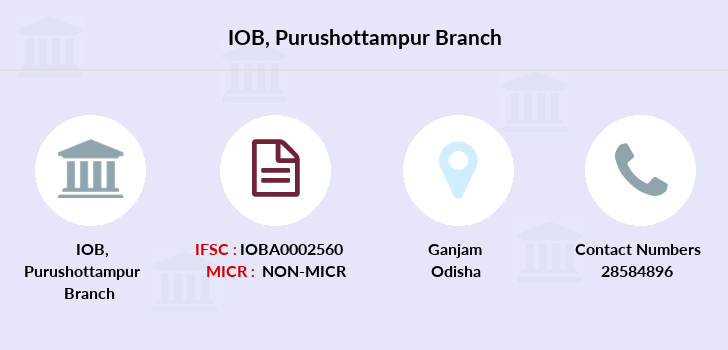 Indian-overseas-bank Purushottampur branch