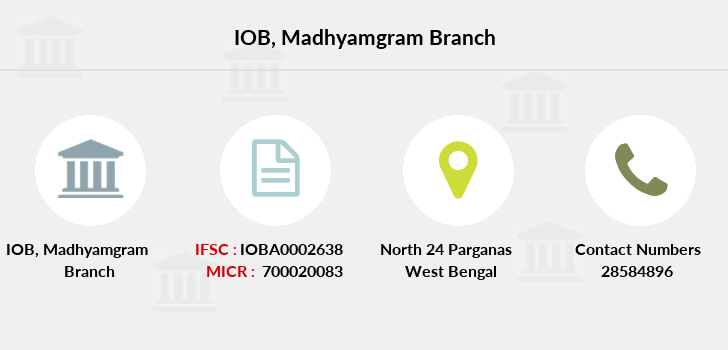 Indian-overseas-bank Madhyamgram branch