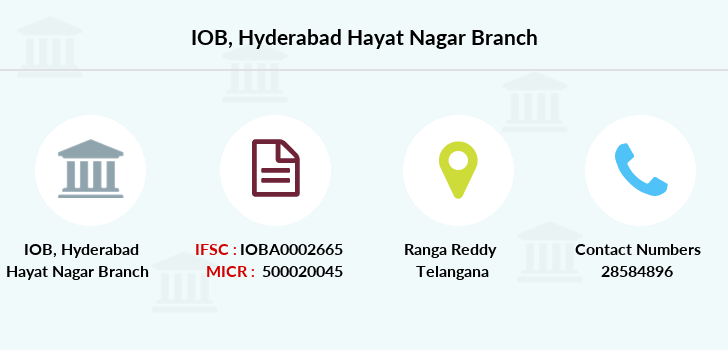 Indian-overseas-bank Hyderabad-hayat-nagar branch