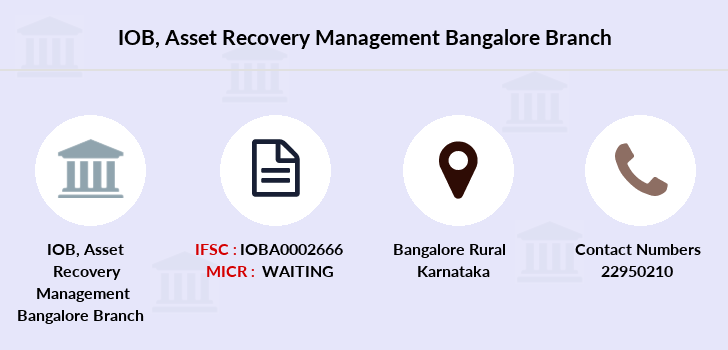 Indian-overseas-bank Asset-recovery-management-bangalore branch