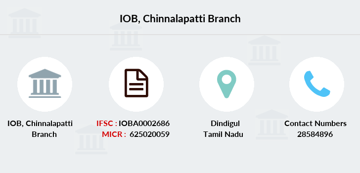 Indian-overseas-bank Chinnalapatti branch