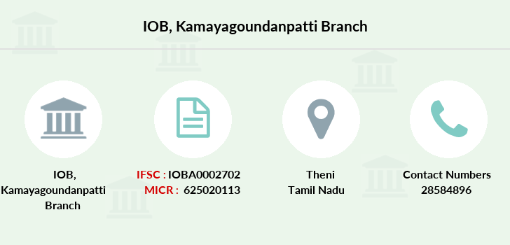 Indian-overseas-bank Kamayagoundanpatti branch