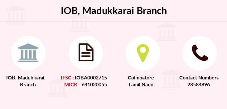 Indian-overseas-bank Madukkarai branch