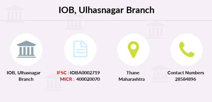 Indian-overseas-bank Ulhasnagar branch