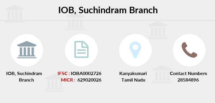Indian-overseas-bank Suchindram branch