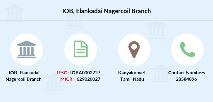 Indian-overseas-bank Elankadai-nagercoil branch