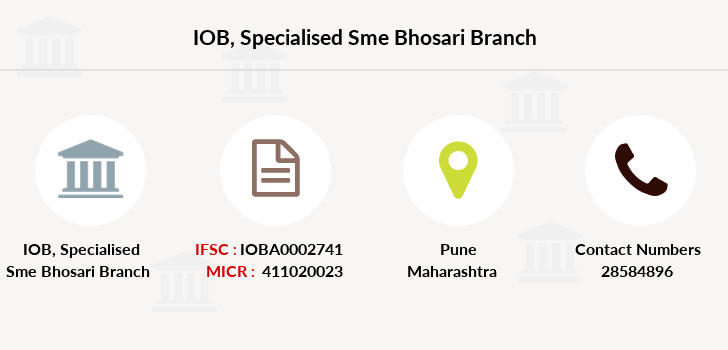 Indian-overseas-bank Specialised-sme-bhosari branch