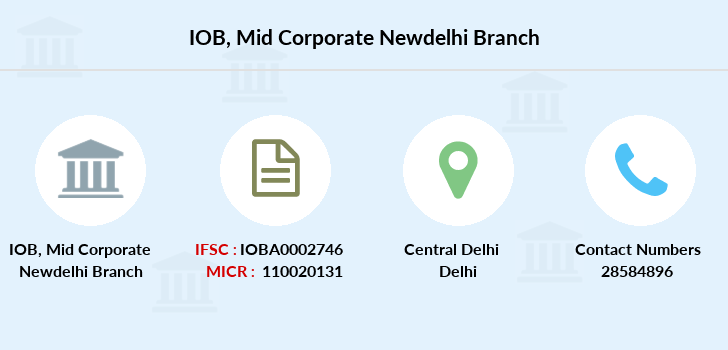 Indian-overseas-bank Mid-corporate-newdelhi branch