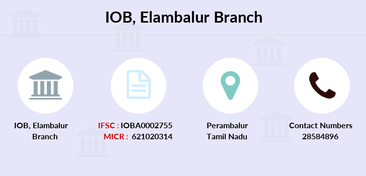 Indian-overseas-bank Elambalur branch