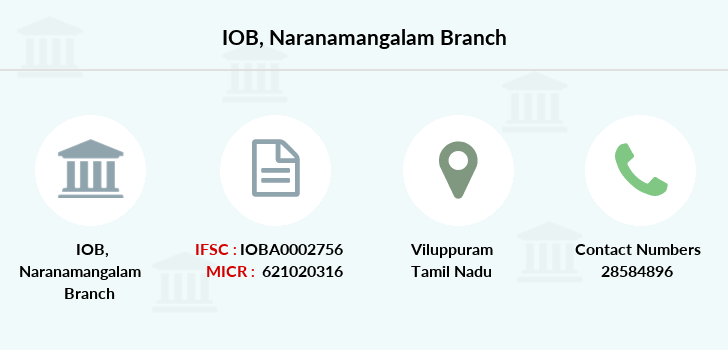 Indian-overseas-bank Naranamangalam branch