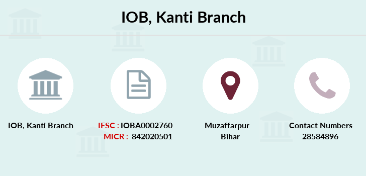 Indian-overseas-bank Kanti branch