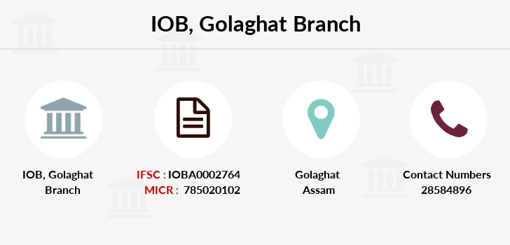 Indian-overseas-bank Golaghat branch