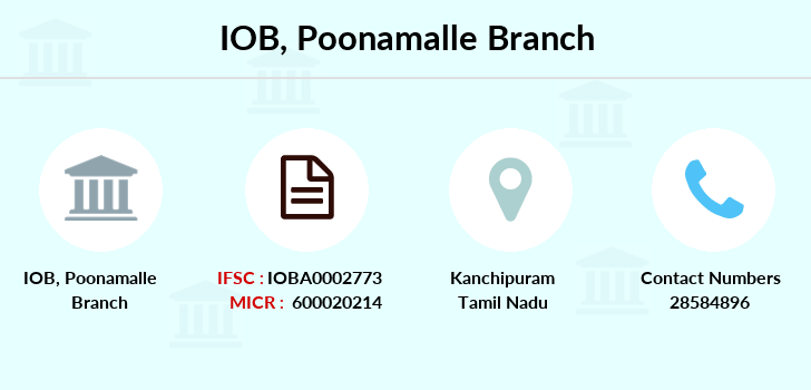 Indian-overseas-bank Poonamalle branch
