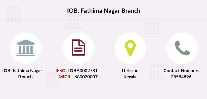 Indian-overseas-bank Fathima-nagar branch