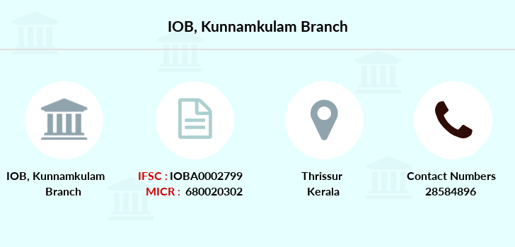 Indian-overseas-bank Kunnamkulam branch