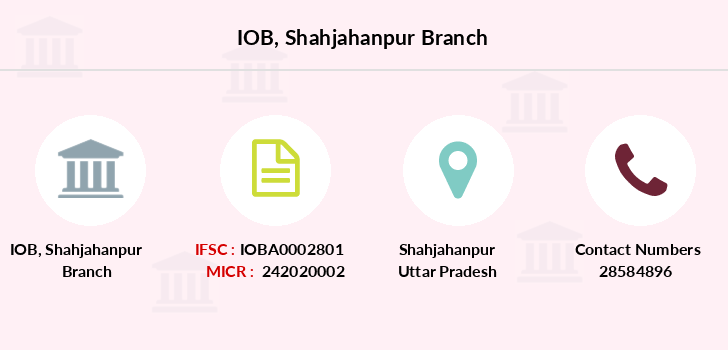 Indian-overseas-bank Shahjahanpur branch