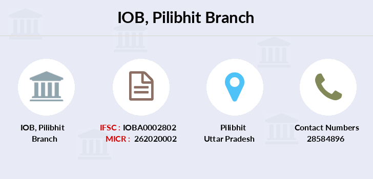 Indian-overseas-bank Pilibhit branch
