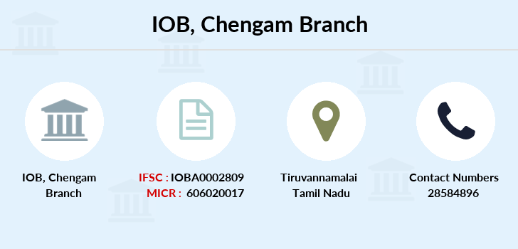 Indian-overseas-bank Chengam branch