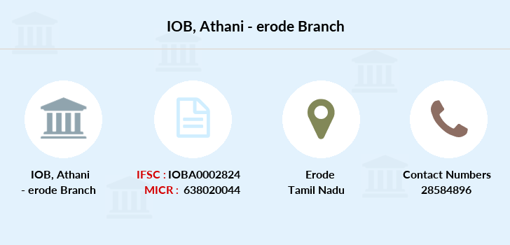 Indian-overseas-bank Athani-erode branch