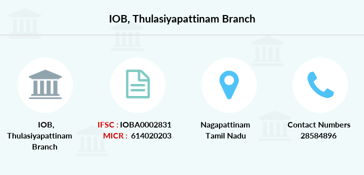 Indian-overseas-bank Thulasiyapattinam branch