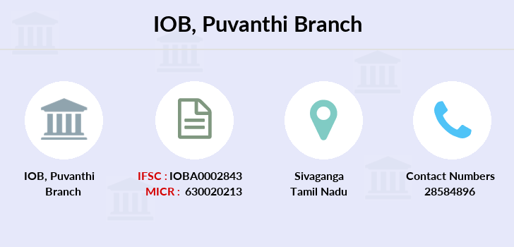 Indian-overseas-bank Puvanthi branch