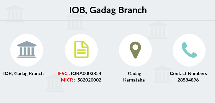 Indian-overseas-bank Gadag branch