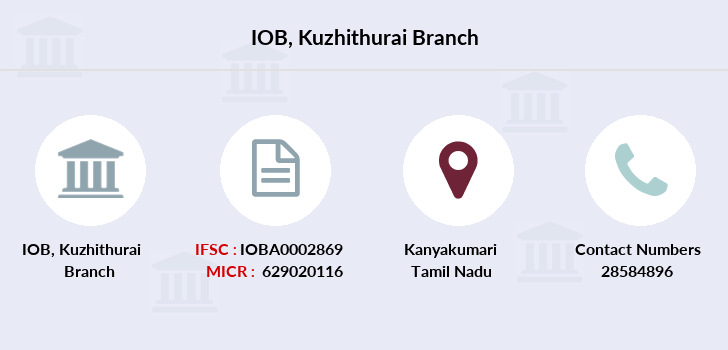 Indian-overseas-bank Kuzhithurai branch