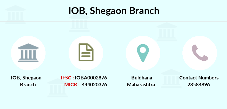 Indian-overseas-bank Shegaon branch