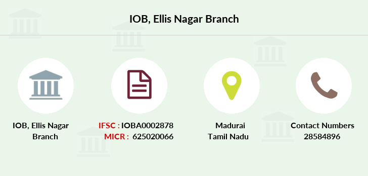 Indian-overseas-bank Ellis-nagar branch
