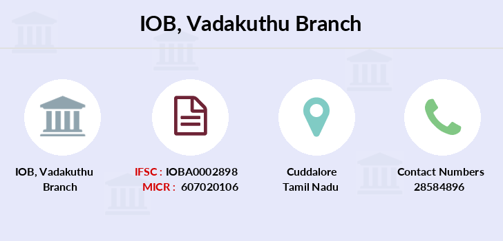 Indian-overseas-bank Vadakuthu branch