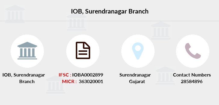 Indian-overseas-bank Surendranagar branch
