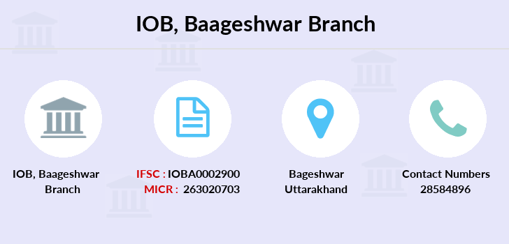 Indian-overseas-bank Baageshwar branch