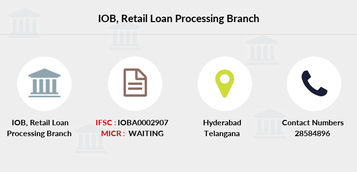 Indian-overseas-bank Retail-loan-processing branch