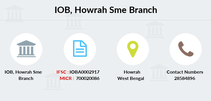 Indian-overseas-bank Howrah-sme branch
