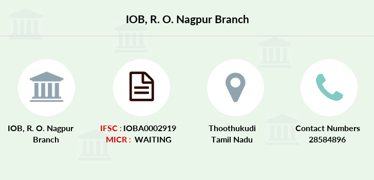 Indian-overseas-bank R-o-nagpur branch