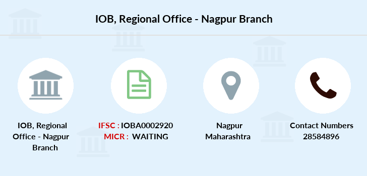 Indian-overseas-bank Regional-office-nagpur branch