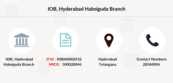Indian-overseas-bank Hyderabad-habsiguda branch