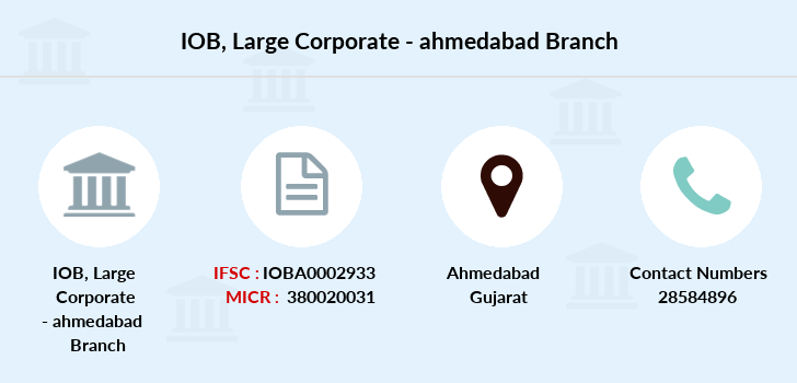 Indian-overseas-bank Large-corporate-ahmedabad branch