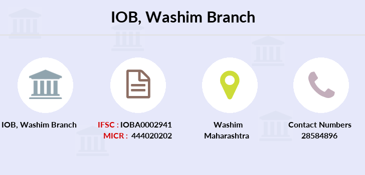 Indian-overseas-bank Washim branch