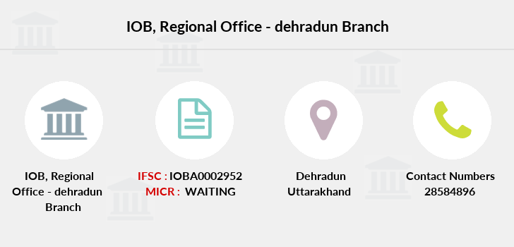 Indian-overseas-bank Regional-office-dehradun branch