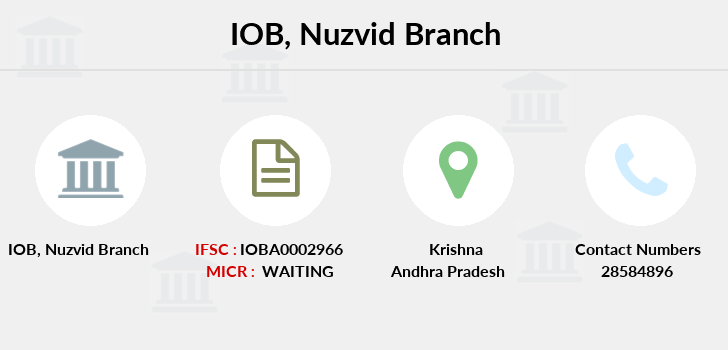 Indian-overseas-bank Nuzvid branch