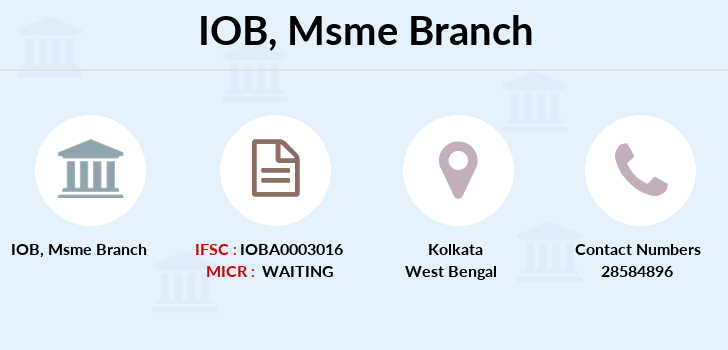 Indian-overseas-bank Msme branch