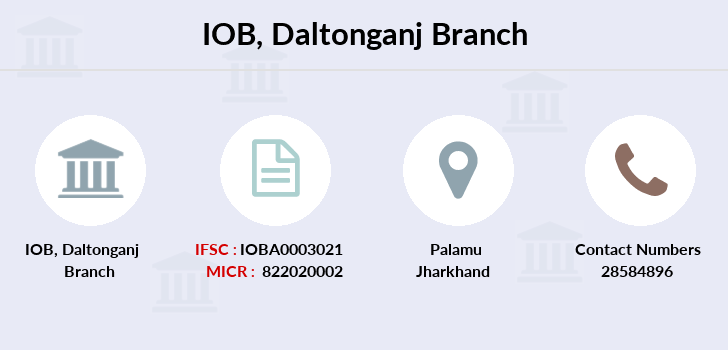 Indian-overseas-bank Daltonganj branch
