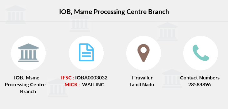 Indian-overseas-bank Msme-processing-centre branch