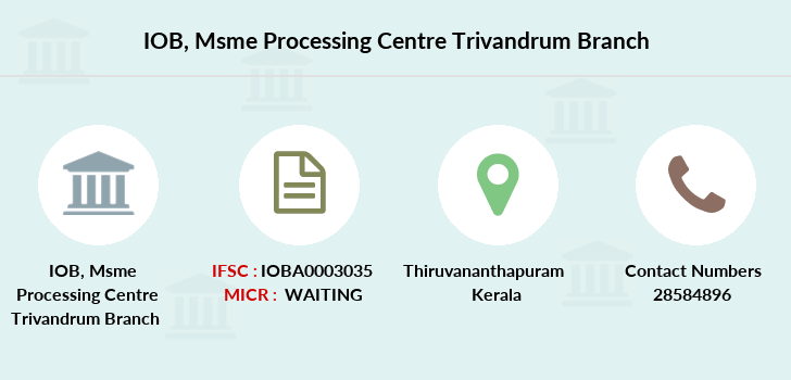 Indian-overseas-bank Msme-processing-centre-trivandrum branch
